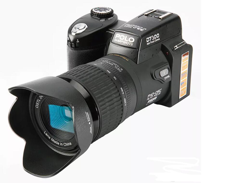 1 x Instruction Manual 1 x Li-ion battery 1 x Charger 1 x Adapter 1 x Wide  Angel Lens 1 x Telephotos Lens(24X Optical Zoom) 1 x LED Spotlight 1 x  Tripod