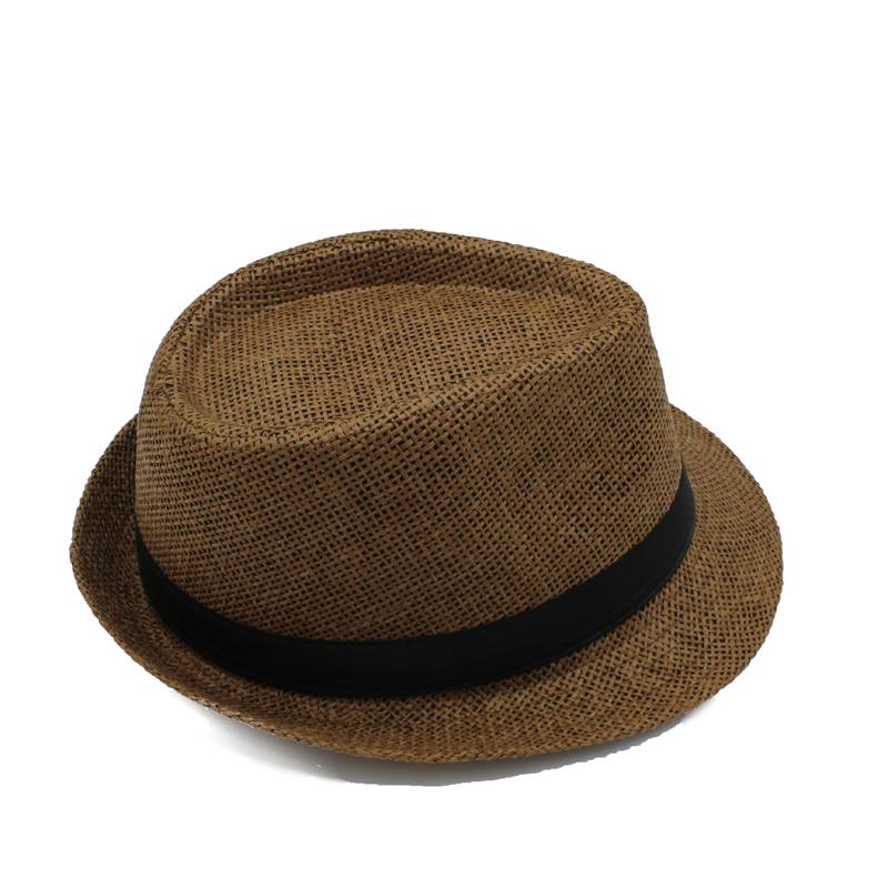 d1dde7bff7e 2019 By EMS Men Women Chlidren Straw Hats Soft Fedora Panama Hats ...