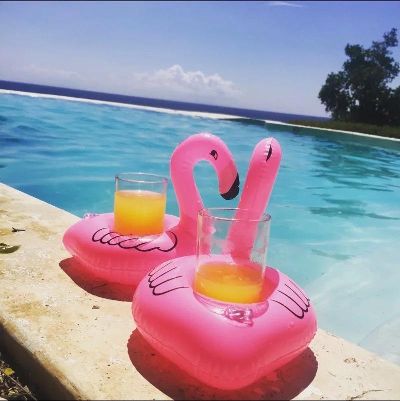 2019 20*17cm Pool Float Fun Flamingo Inflatable Pool Toy