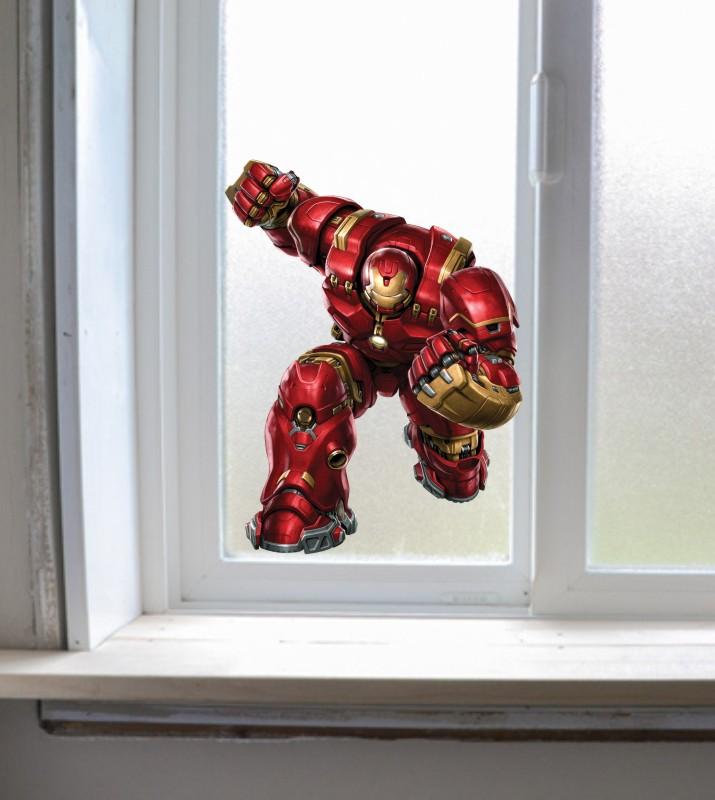 Avengers Ironman Wall Decal Hulkbuster Sticker Boys