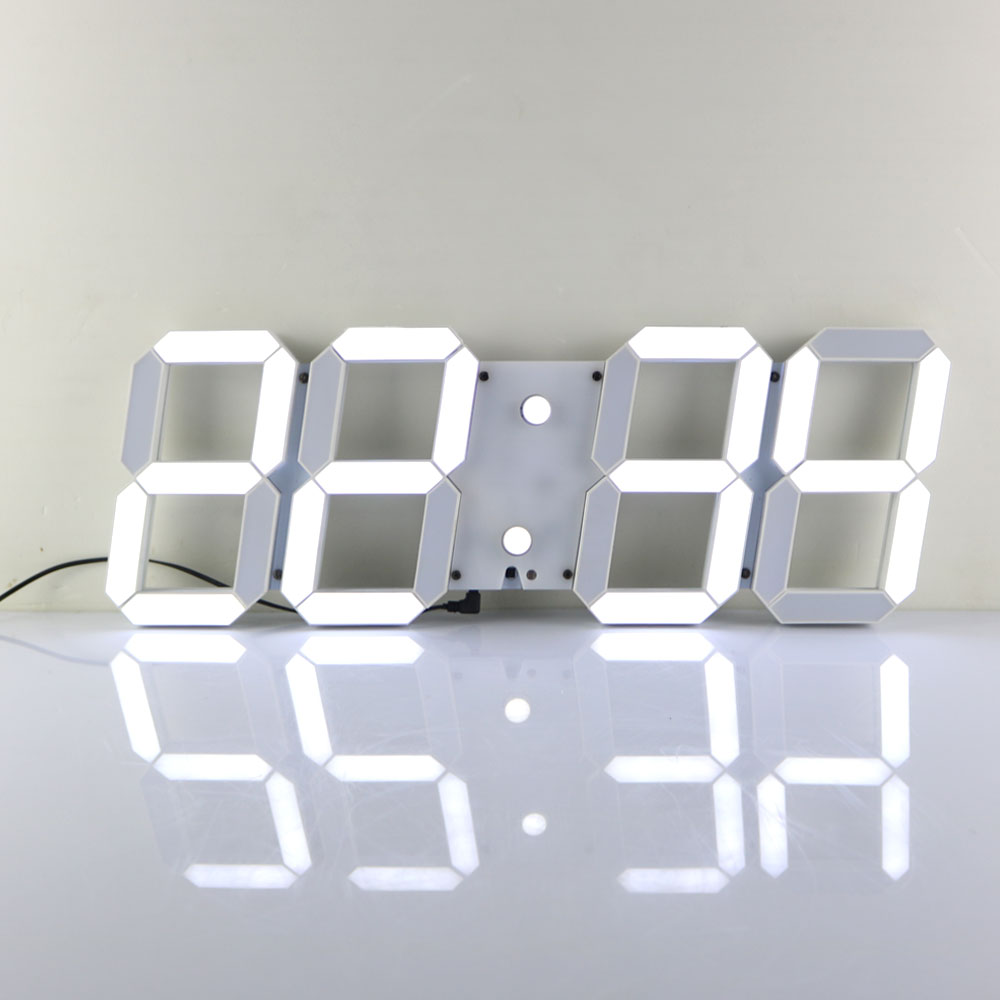 led digital large wall clock us delivery alarm clock watch countdown timer ebay