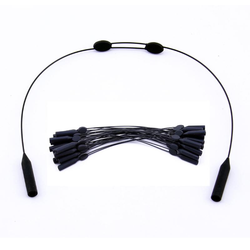 Black Adjustable Eyeglasses Sunglasses Kids Men Women Glasses Holder ...