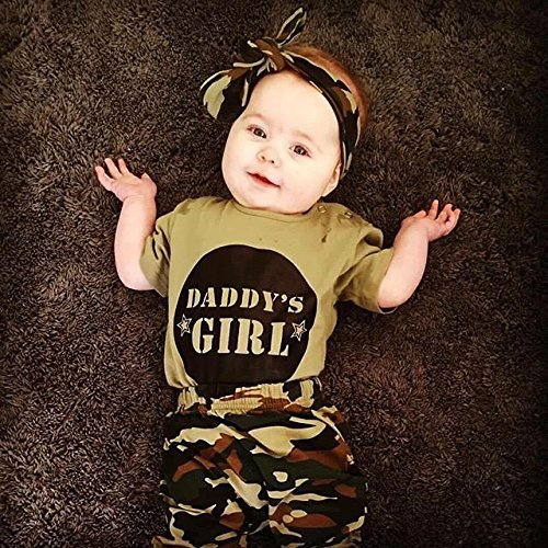 9b67fae46 2019 Baby Clothing Newborn Toddler Baby Boy Girl Camo T Shirt Tops+ ...