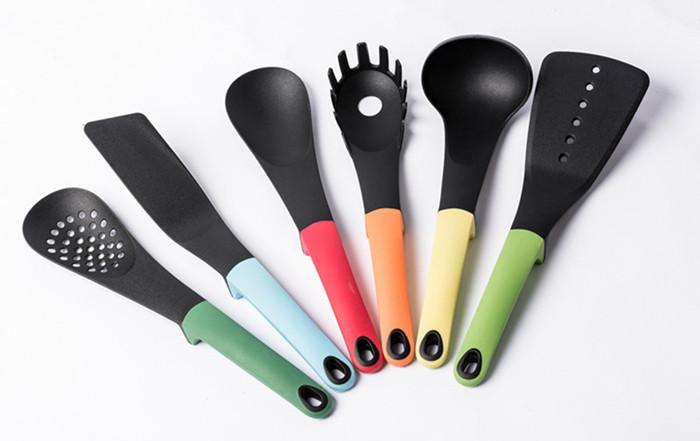 6pcs nylon kitchen cooking tools set utensils spoon for Kitchen tool set of 6pcs sj