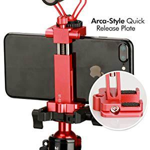 metal phone tripod mount