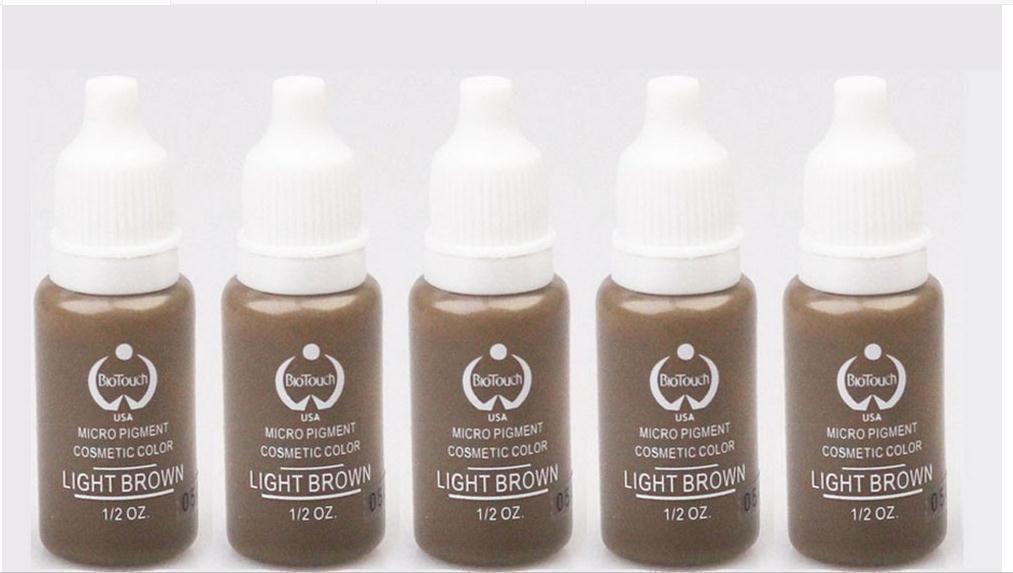 Tattoo Body Art Tattoo Inks Light Brown 15ml/Bottle Biotouch ...