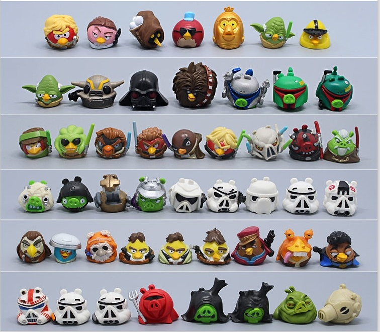 Star Wars Angry Birds Telepods action Figures NEW ...  Star Wars Angry...