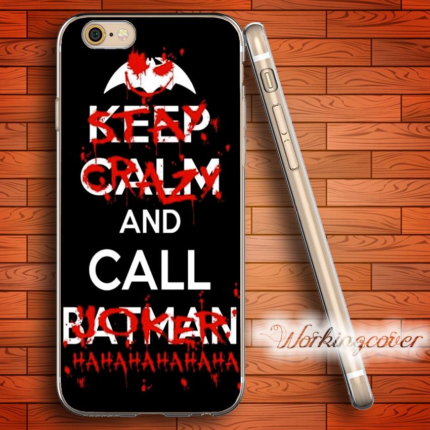 coque iphone 6 joker batman