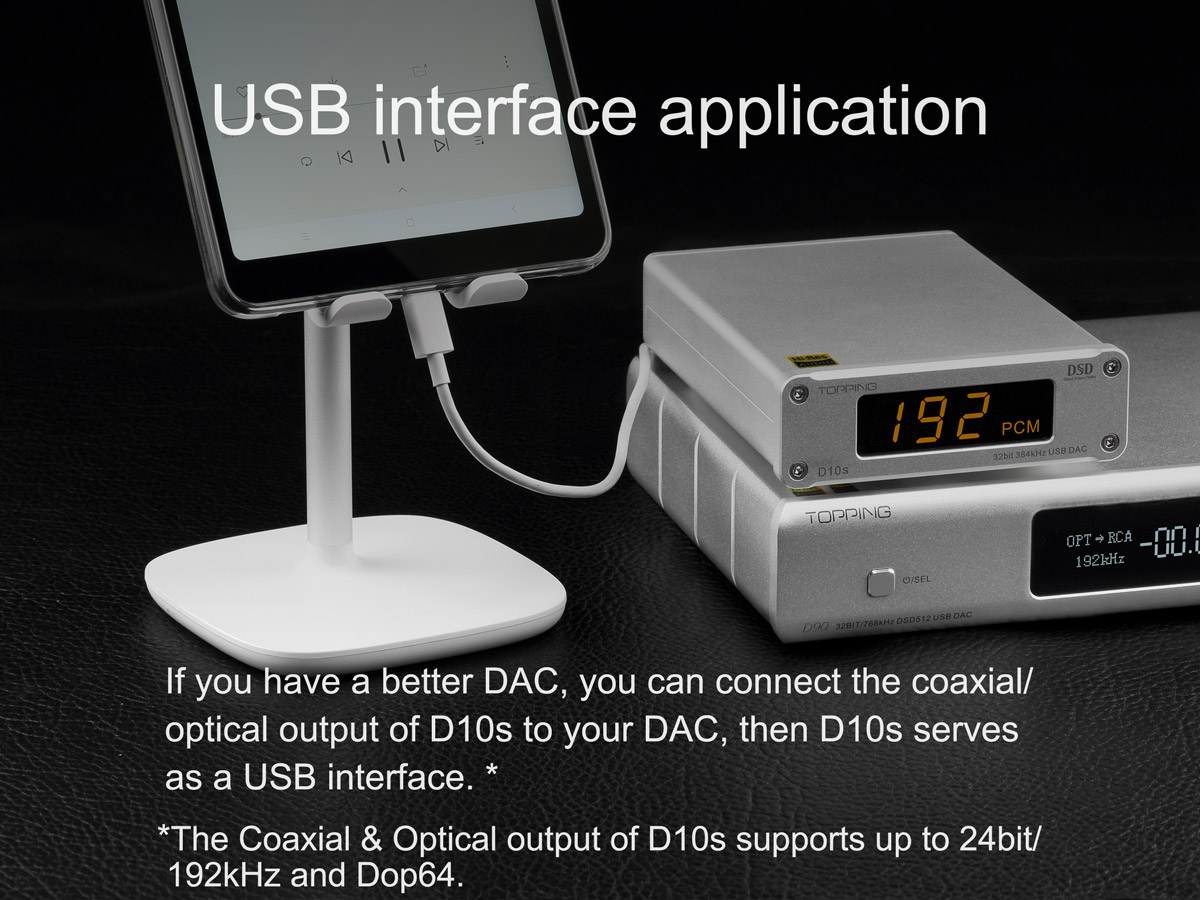 D10s connected to D90 and serving as a USB interface
