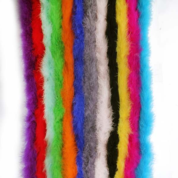 72 inches Marabou Feather Boa For Party Burlesque Fancy Party Decoration A
