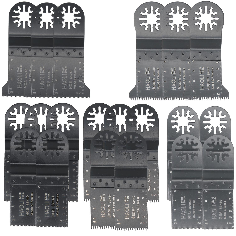 20Pcs Oscillating Multi Tool Saw Blades for Fein Bosch Makita Dremel Skil
