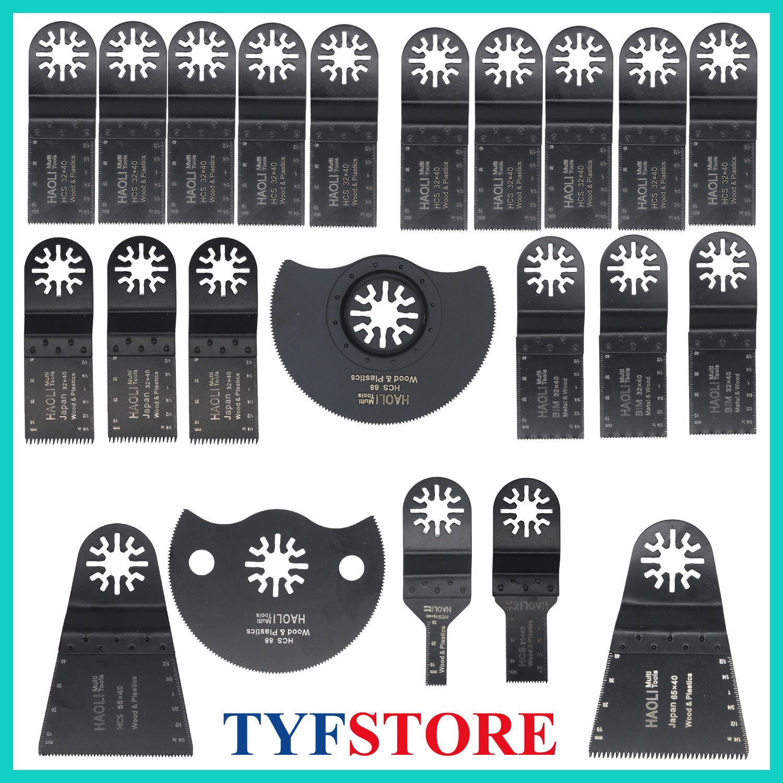 22 Pc Oscillating Multi Tool Saw Blade For Fein Multimaster Bosch