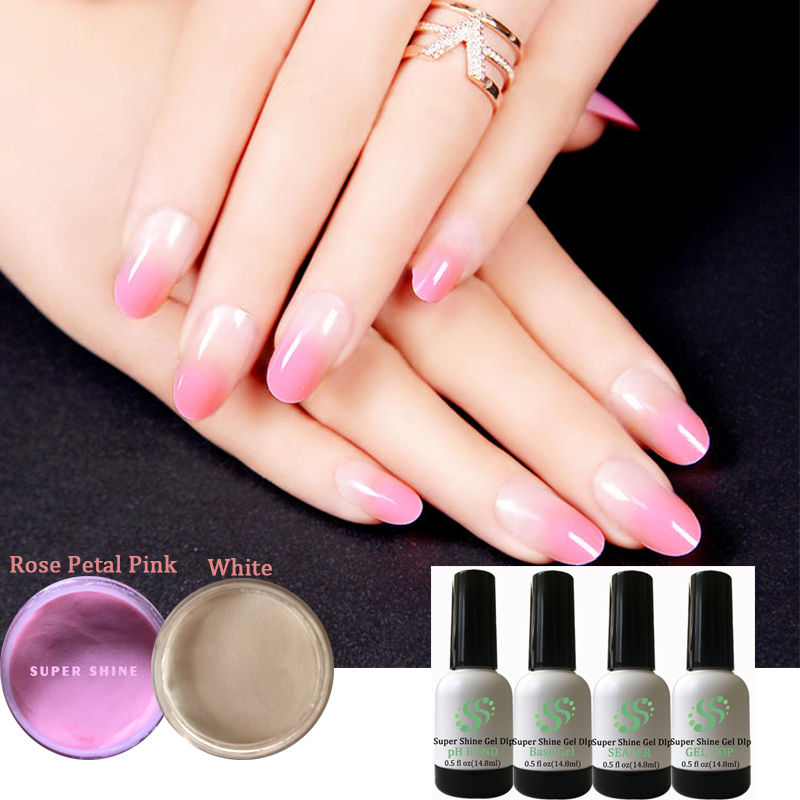 Dipping Powder Acrylic FRENCH MANICURE KIT Dip System AIR Dry Fast ...