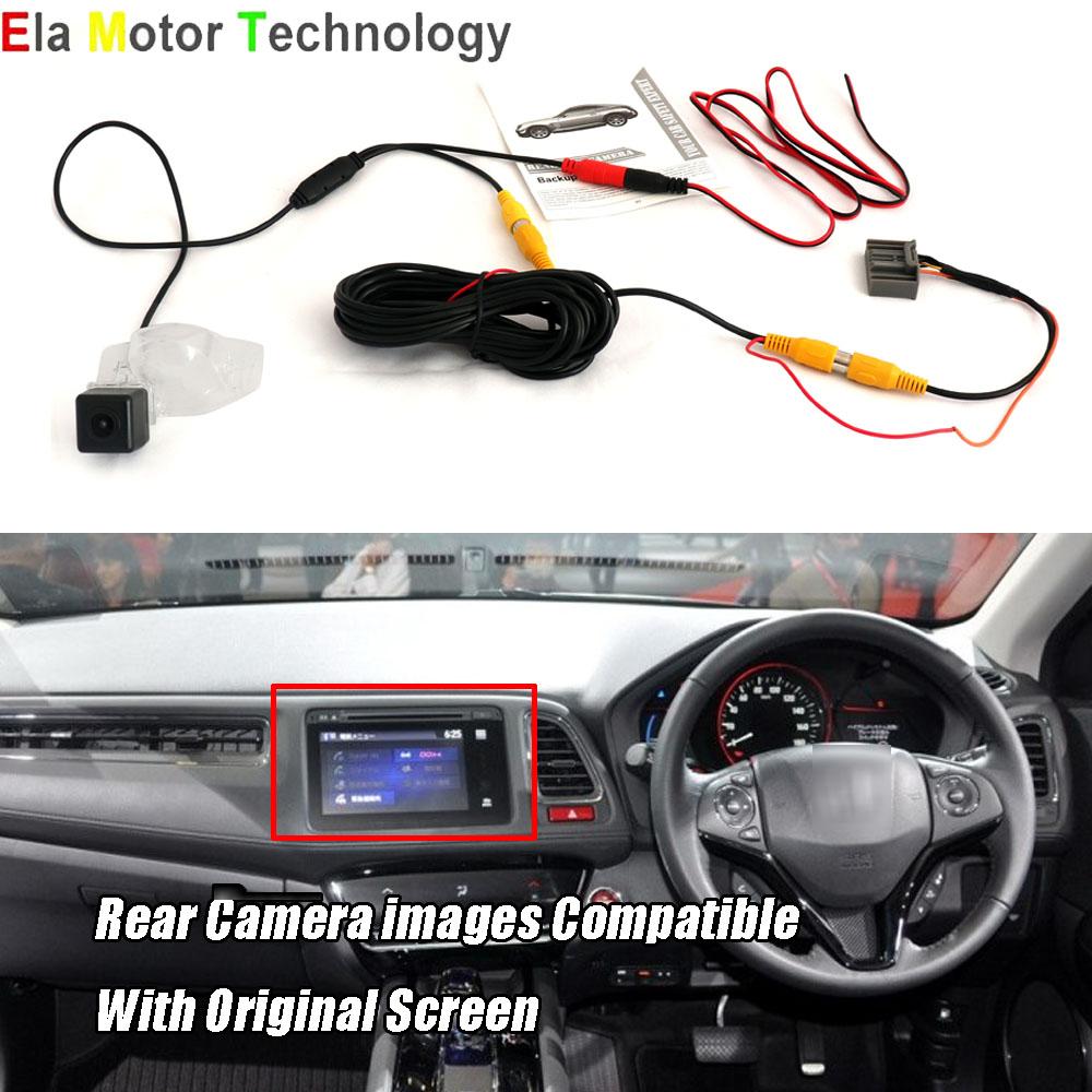 Car Rear View Back Up Camera For Honda Hrv Hr