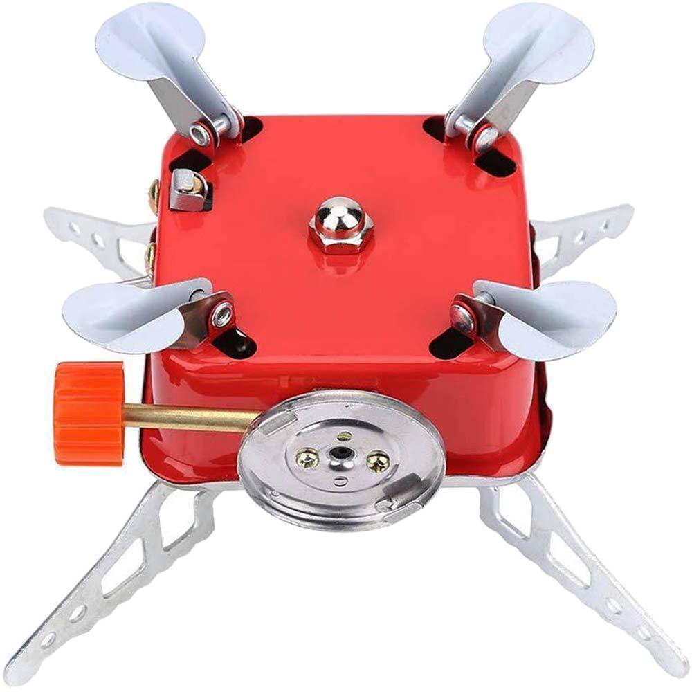 Outdoor Picnic Camping Gas Burner Mini Stove Head Folding Stainless Steel UK