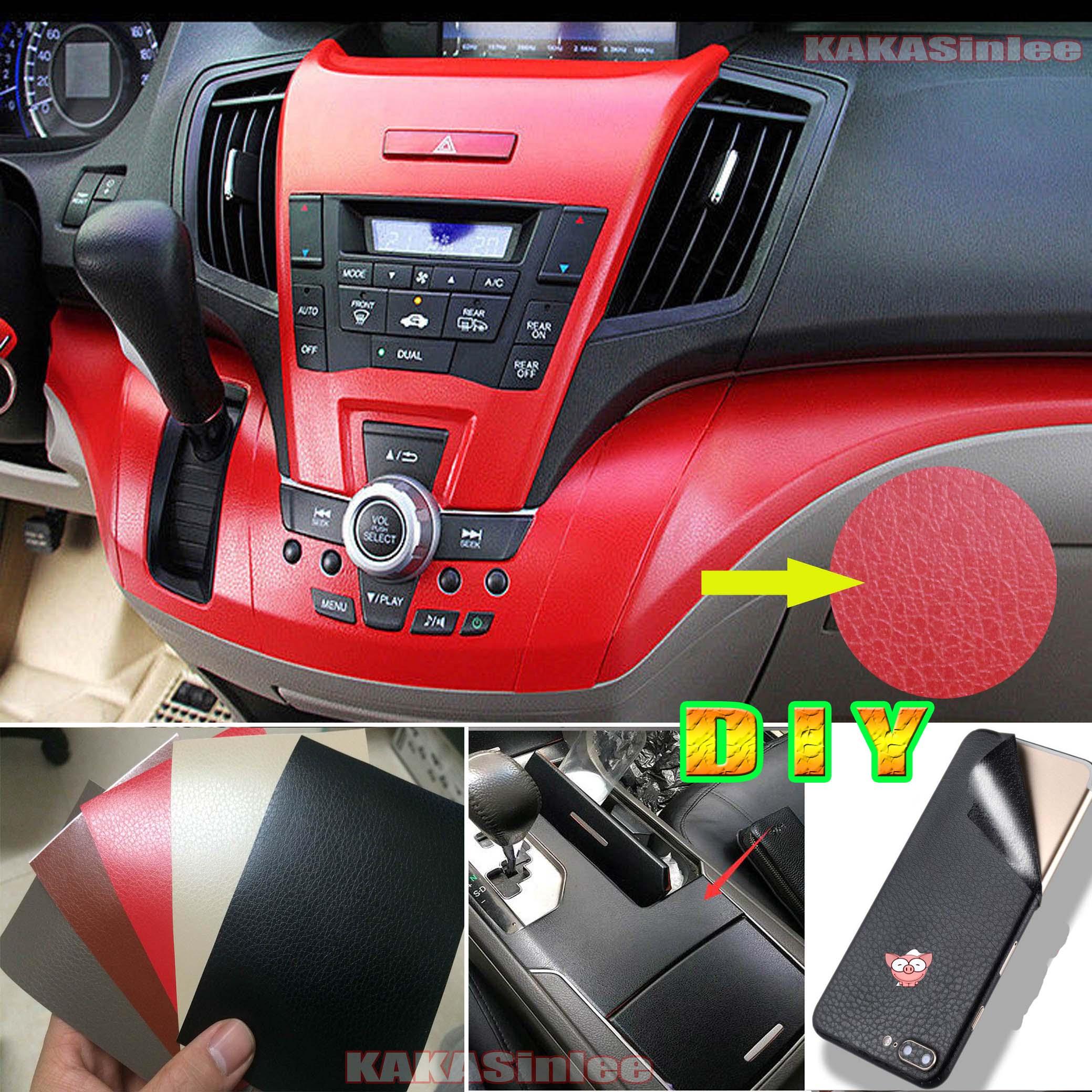 Test Sample 8cm X 12cm Car Matte Leather Texture Skin