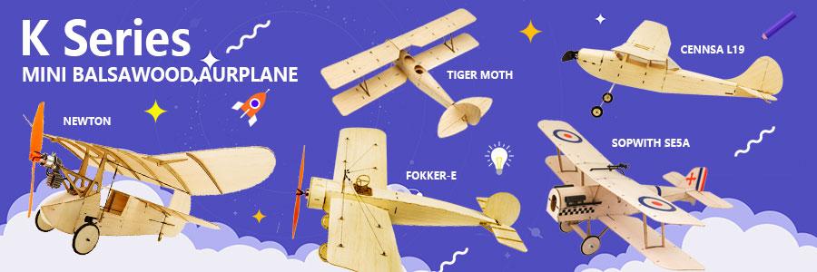 2019 New Balsa Wood Airplane ModelGEEBEE 0.6m Wingspan Balsa Kit Woodiness model