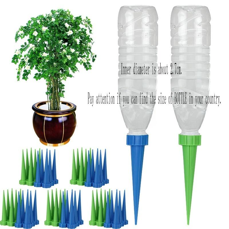 4X Automatic Watering Irrigation Spike Garden Plant Flower Drip Sprinkler Water