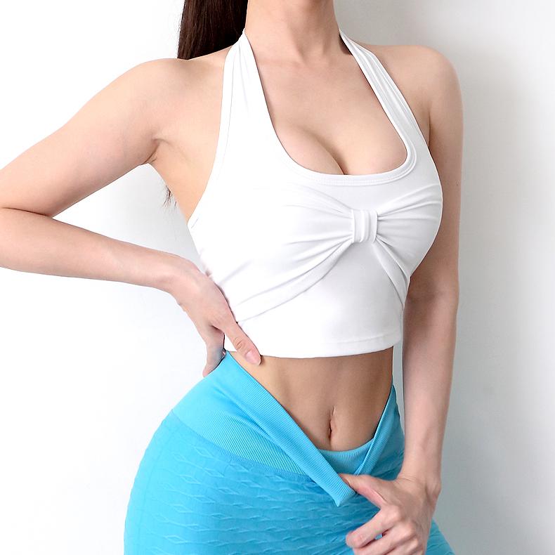white sports bra Halter Bra Sexy Bras