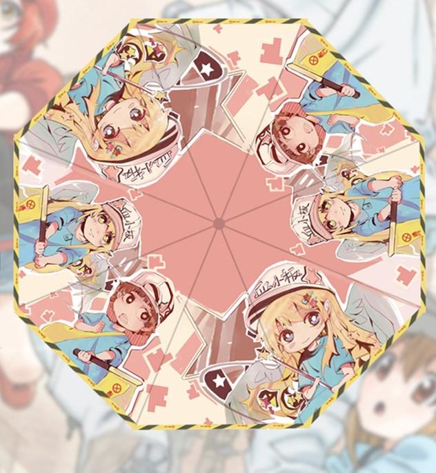 Anime Attack on Titan Cosplay Foldable Umbrella Sun-rain Travel Umbrella