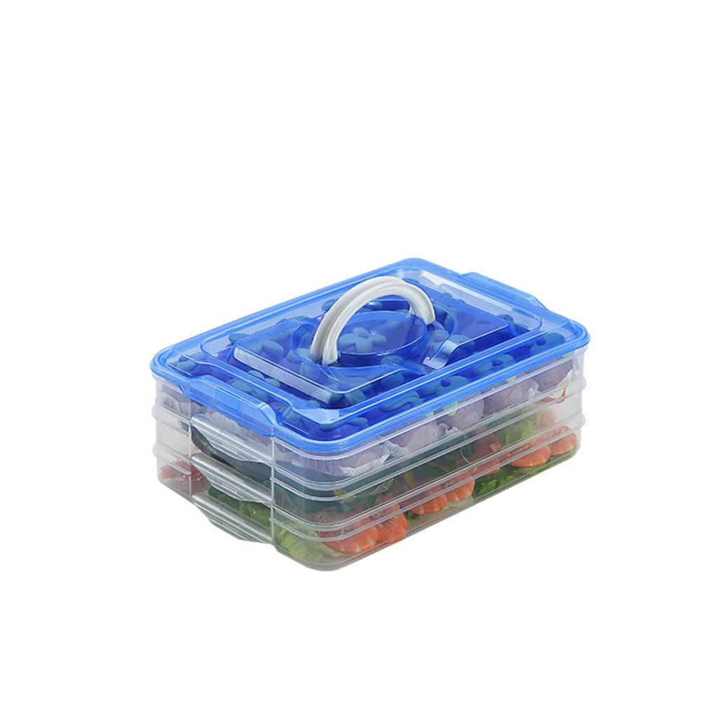 Refrigerator Organizer Bin Stackable Food Storage