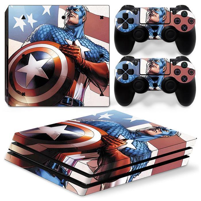 hot Captain America skin for PS4 Pro