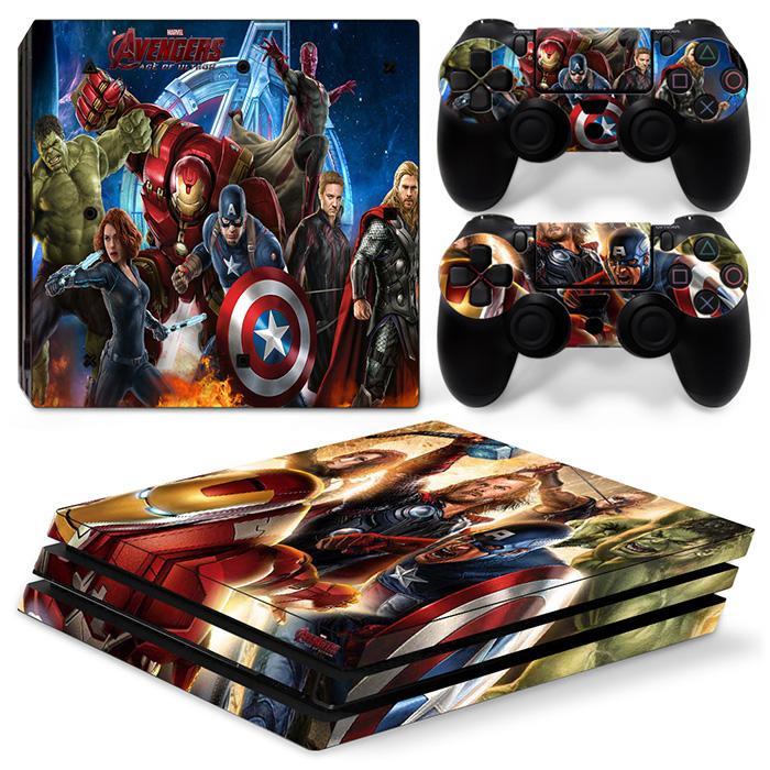 cheap Captain America sticker for PS4 Pro