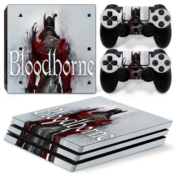 cheap Bloodborne sticker for PS4 Pro