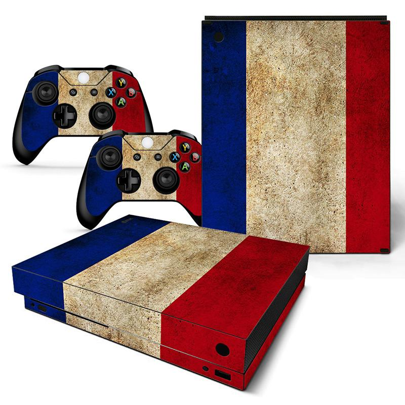 hot Flag sticker for XBOX ONE x