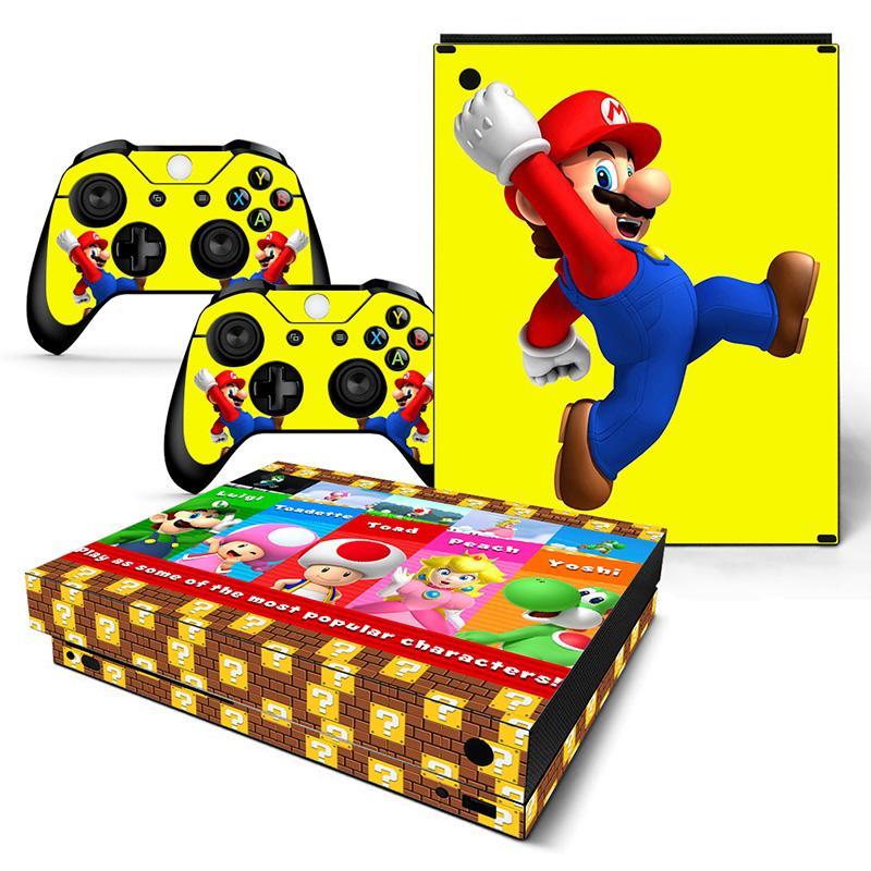 hot Super Mario sticker for XBOX ONE x