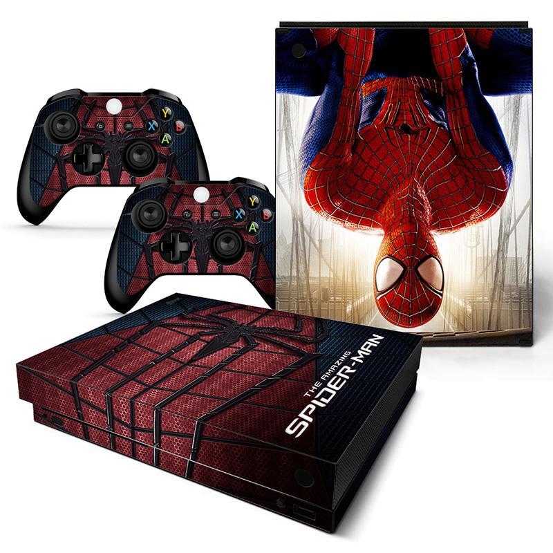 cheap Spider Man sticker for XBOX ONE x
