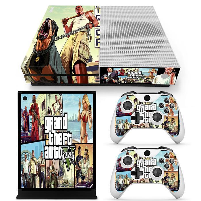 hot Grand Theft Autov sticker for XBOX ONE S