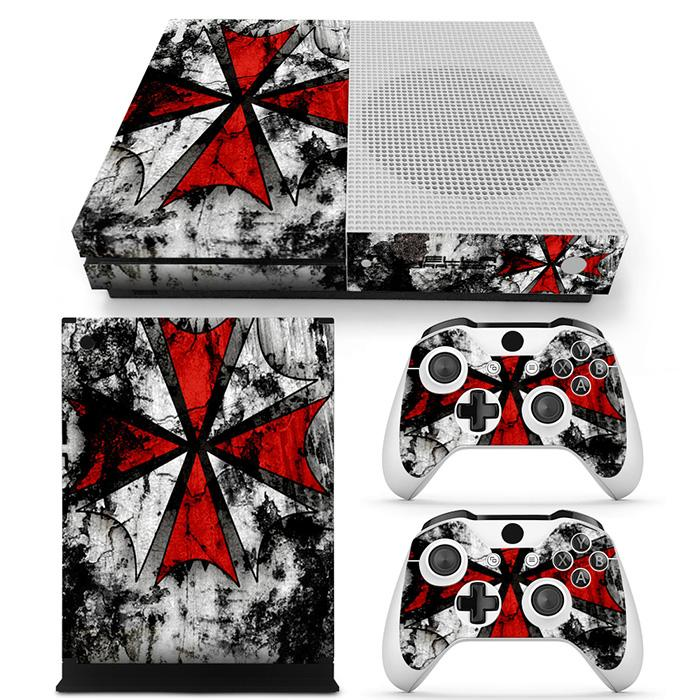 hot Biohazard skin for XBOX ONE S