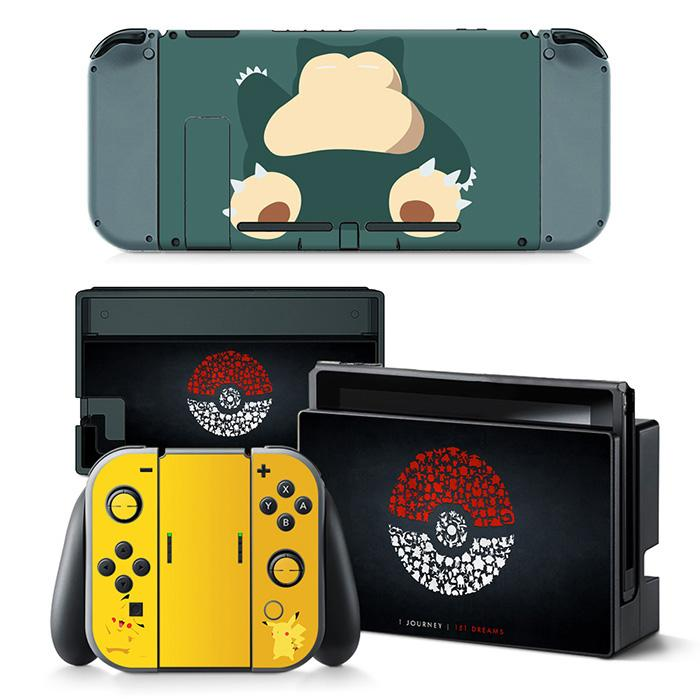 cheap Pokemon sticker for Nintend Switch