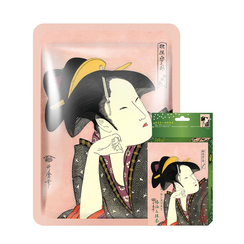 Mitomo Japan Camellia Oil Matcha Facial Essence Mask 10pcs Box Jp005 A 1 Ebay