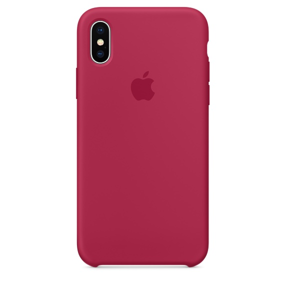 Coque Iphone S Silicone Rouge