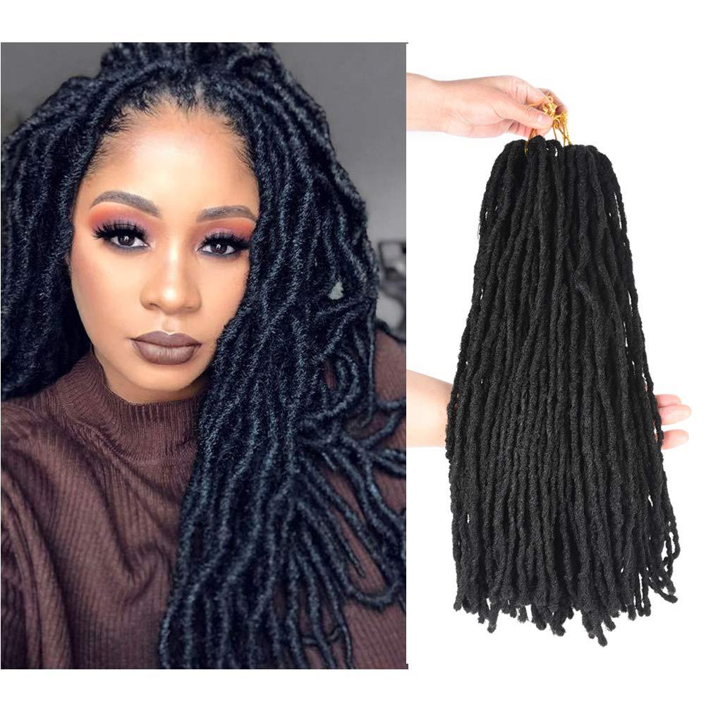 2019 New Style Goddess Locs Crochet Hair 1packs Synthetic