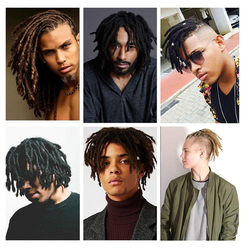2020 Dreads Short Handmade Dreadlocks 15cm 30cm Black Hair Extensions Reggae Hair Hip Hop Style Synthetic Braiding Hair For Men From Keerkeshangmao 19 71 Dhgate Com