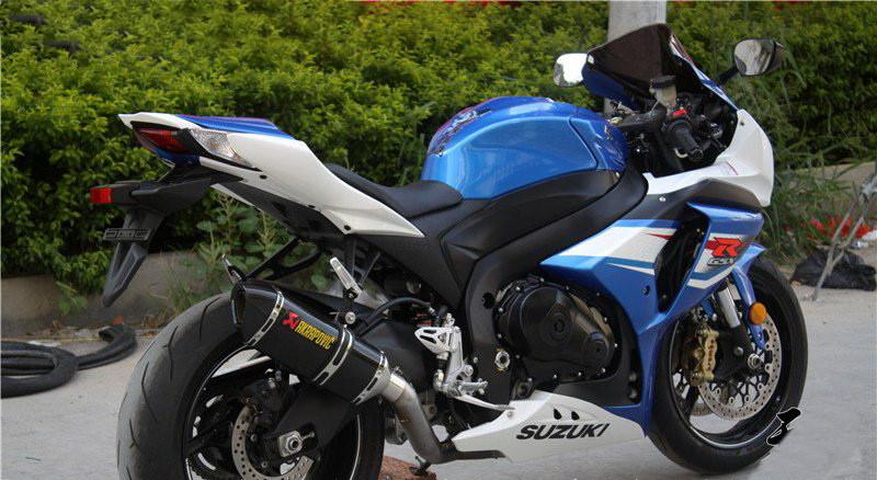 NEW Universal LOUD AKRAPOVIC Motorcycle Akrapovic Carbon Exhaust Pipe Muffler CB