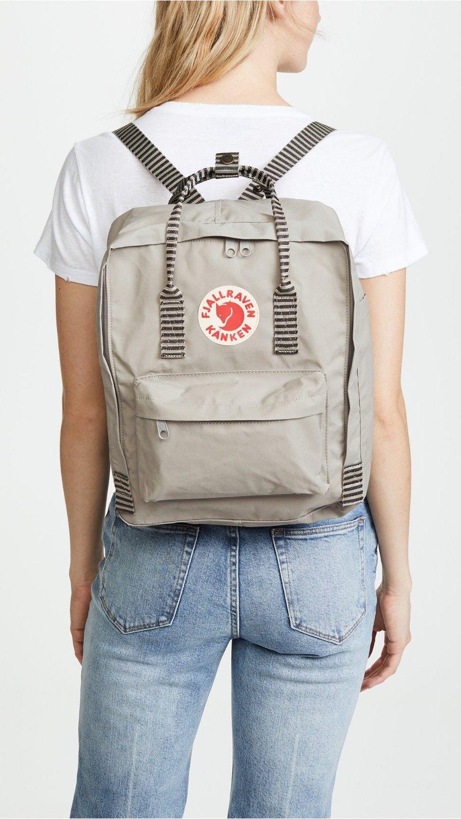 16L/Classic BackPack Brand School Bag Travel Fog Grey
