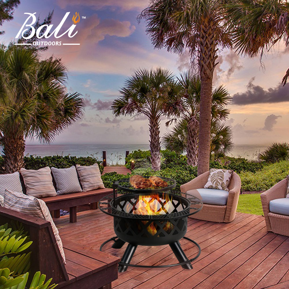 """32"""" Bali Outdoors Wood Burning Fire Pit"""