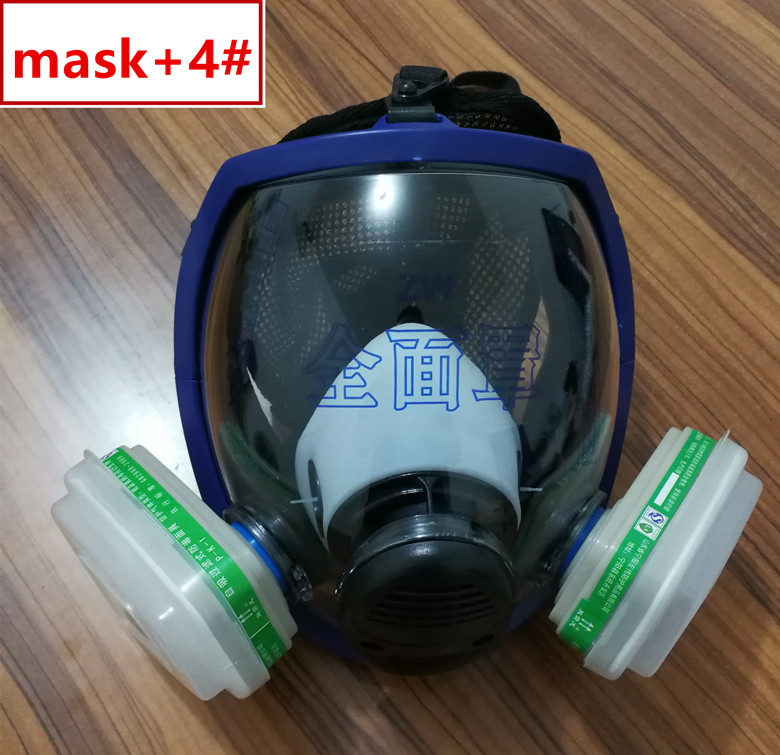 Festive & Party Supplies Sjl Full Face 6800 7 Piece Gas Mask Pesticides Facepiece Respirator Painting Spraying 6001 Filter Cartridge Chemical Medicine Factories And Mines Party Masks